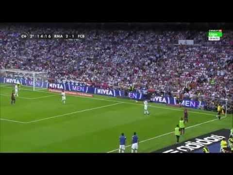 Madrid 3 - Barça 1 con la narración de Rac1 (radio catalana y culé)