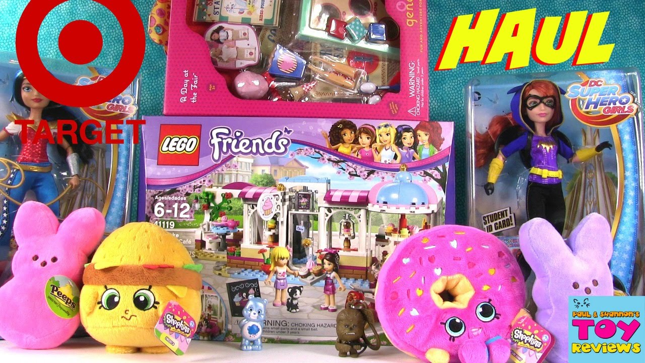 Target Toys For Girls : Toy haul from target lego shopkins our generation dc