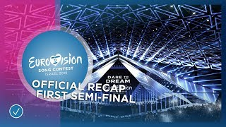 OFFICIAL RECAP: The first Semi-Final of the 2019 Eurovision Song Contest