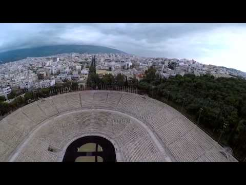 City of Athens from the air.