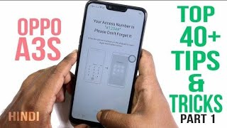 Oppo A3s Tips And Tricks Part 1 | Top 40+ Best Features of Oppo A3s
