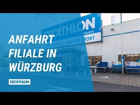DECATHLON Filiale Würzburg | Anfahrt Zum Store