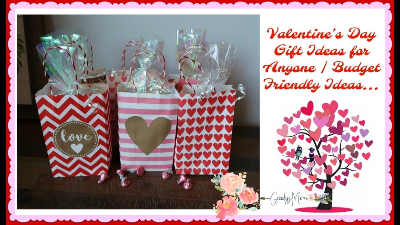Valentine S Day Gift Ideas On A Budget Teachers Friends Family Youtube