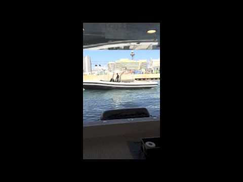The motor yacht kismet in Barcelona, Spain demo from Thomas Serrao of Control Engineering