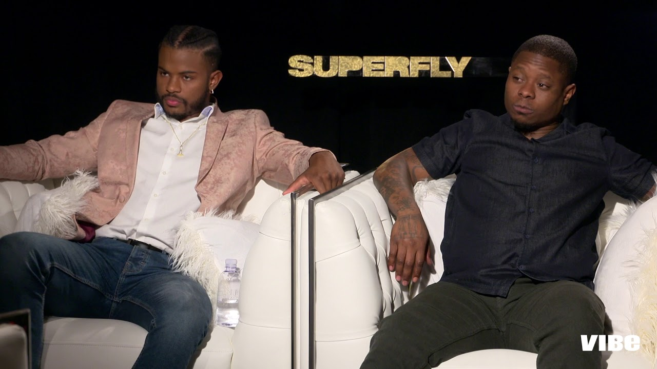 7d9e0d8a7f6 Trevor Jackson and Jason Mitchell Talk Their  Superfly  Characters ...