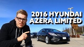 2016 Hyundai Azera Limites Dripping in Luxury смотреть