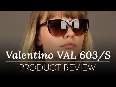 Valentino Sunglasses Review - Valentino VAL 603/S 213 B Sunglasses