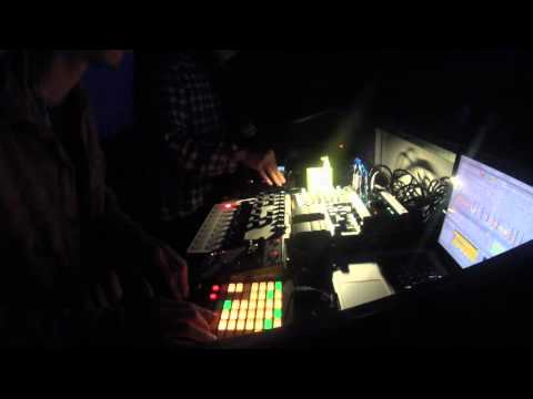 Quan and Duy live techno set at Hanoi Rock City 1/1/2016