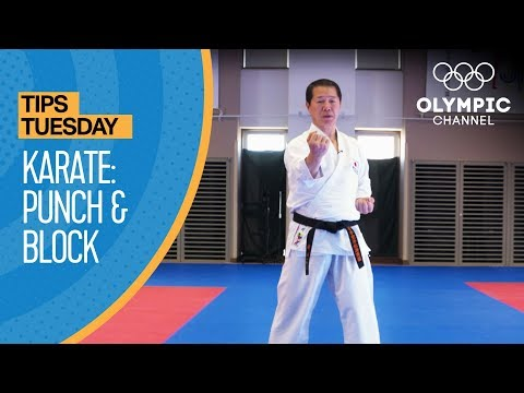 How to punch and block in Karate | Olympians' Tips