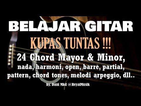 Belajar Kunci Gitar Pemula KUPAS TUNTAS Mayor Minor LENGKAP !!!