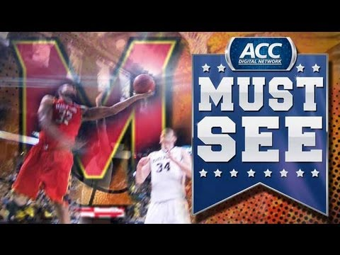 Awesome Acrobatic Layup By Dez Wells - ACC...
