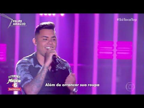 Felipe Araújo Amor na Sua Cama no Programa Só Toca Top 250818