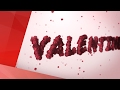 Valentine Love Intro Animation in After Effects Preview