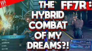 Hybrid Dream OR Avoidable Bloat? FINAL FANTASY VII REMAKE Combat System | Reactions, Gameplay & News