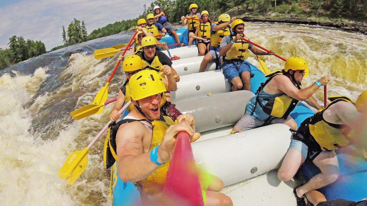 Wilderness Tours Adventure Resort Raft The Ottawa River