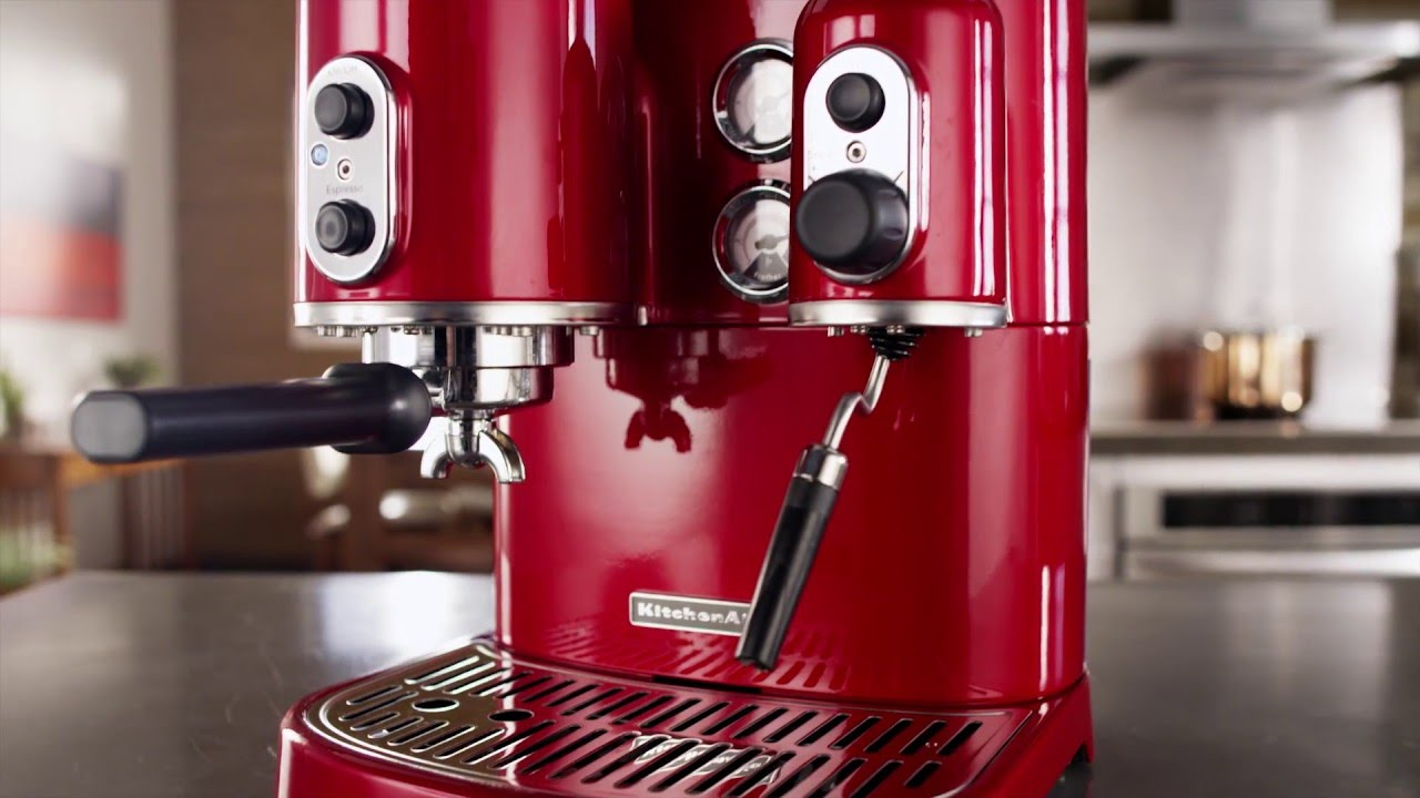 Operating The Kitchenaid Pro Line Espresso Maker