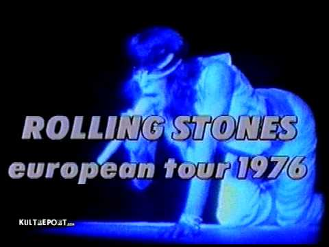 Rolling Stones European tour 1976 Private S 8 Movie