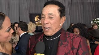 Smokey Robinson Reacts to Friend Kobe Bryant's Death | GRAMMYs 2020