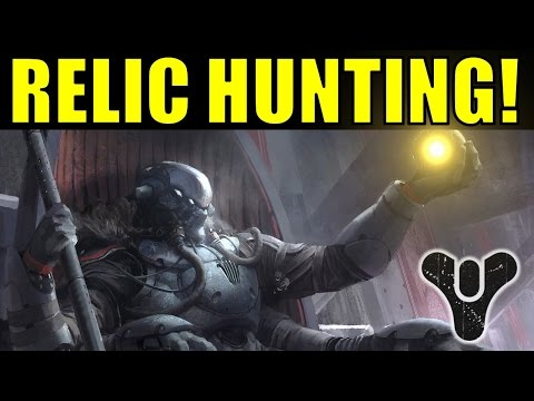 Destiny relic hunting how to get pre dlc guns amp armor