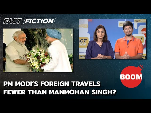 PM Modi's Foreign Travels Fewer Than Manmohan Singh?