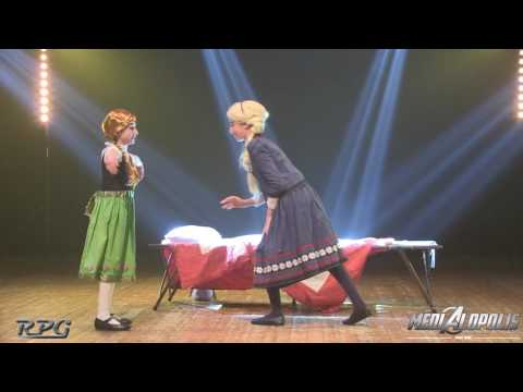 Concours Cosplay Médialopolis - Anna Elsa Enfant (La Reine des neiges)