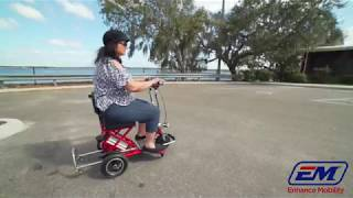 Triaxe Sport Folding Portable Travel Mobility Scooter