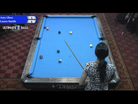 Ultimate 10-Ball Championships - Amy Chen vs Laura Smith