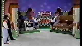 The Price is Right (12/12/89) | Debut of 2 for the Price of 1