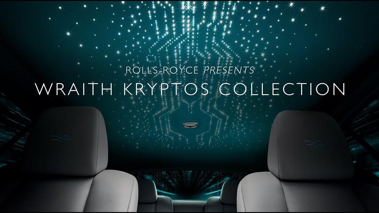Rolls-Royce Wraith Kryptos Collection Car