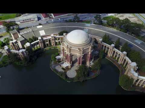 Palace of Fine Arts 🕌 San Francisco 🚁 Drone