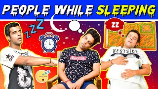 PEOPLE WHILE SLEEPING | The Half-Ticket Shows