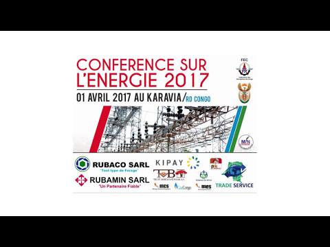 Conférence sur l'Énergie en RD Congo 2017 - Nestor Mwemena