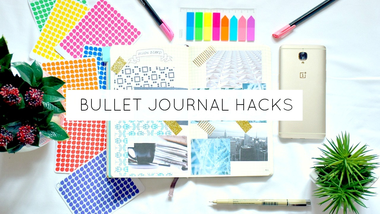 10 Bullet Journal Hacks & Ideas - YouTube