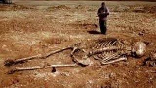 Засекреченные находки Тайна происхождения человечества Гробница великана Земля.Территория загадок