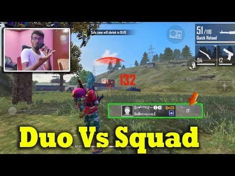 Free Fire Duo Vs Squad 1St Time 17 Kills | Attacking Squad Ranked GamePlay Tamil | Tips&TRicks Tamil
