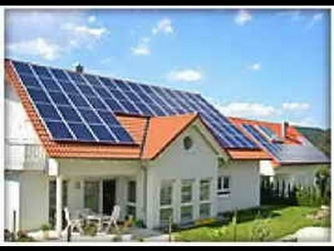 Solar panel House - Pay no electricity bill ever again!