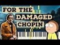 For The Damaged Chopin Dramatic Piano Tutorial Hard Piano Sheet mp3