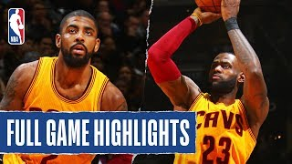 LBJ's WILD Triple Forces OT in Epic Performance's From Love & Kyrie