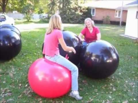 Yellow Jumping Hopper Hop Ball, Ages 10-12 from YouTube · Duration:  1 minutes 24 seconds
