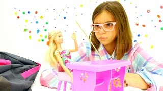 Игры с Барби. Викторина от подружки Вики. Приключения Барби - Мультики для девочек