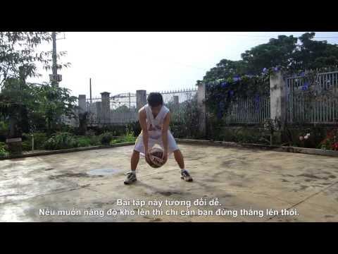 [Tập bóng rổ] 10 động tác nhồi bóng cơ bản và nâng cao