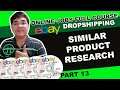 Ebay Similar Product Research Online Jobs Philippines Tutorial Tagalog Product Research