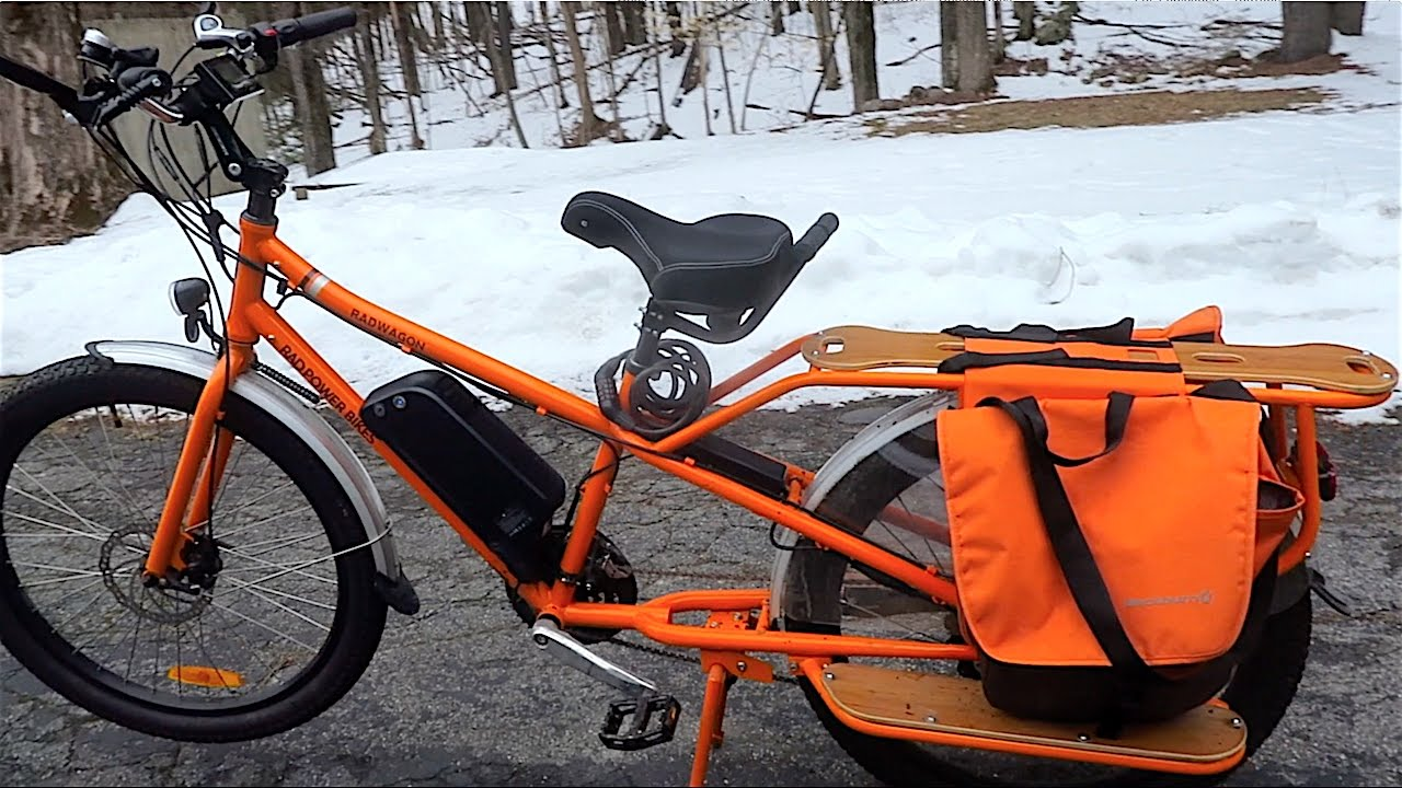 Ride Report Used Radwagon Family Cargo Electric Assist