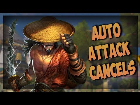 Smite: Auto Attack Canceling (Ft. Mechanics) - Masters Ranked Duel