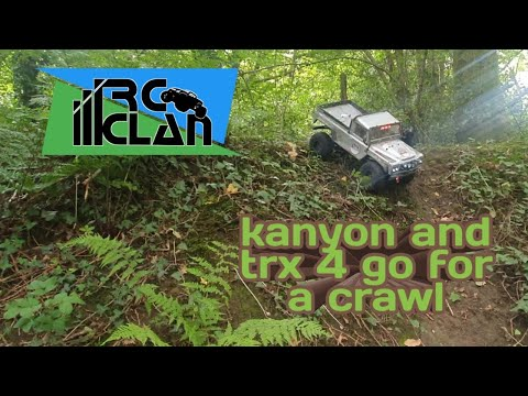 Ftx Kanyon And Trx4 Go For A Crawl