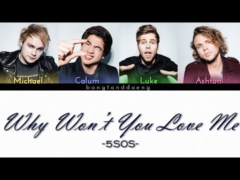 5SOS - Why Won't You Love Me // Color Coded Lyrics