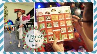 VLOGMAS 7-9,2019 ❅ Nhật Ký Buổi Diễn PIANO Đầu Tiên Sau 2 Tháng Học Của DONUT ❅Con Bệnh - Mẹ Bệnh