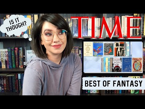 TIME'S 100 BEST FANTASY BOOKS OF ALL TIME | REACTION