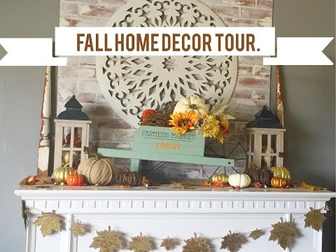 Shopping at target tj maxx more fall home decor doovi Target fall home decor