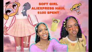 Soft girl AliExpress Haul | I Spent $100❗️ screenshot 4